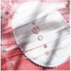 日韩新款超美气质蕾丝爱心粉色少女CHOKER项圈颈链短款锁骨链项链